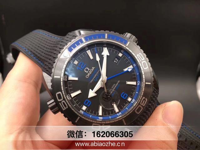 VS厂深海之蓝-vs海马600海马深海之蓝测评有钢表带吗?  第1张