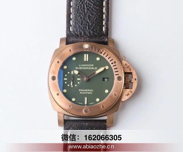 VS厂382复刻表-vs沛纳海382史泰龙军魂铜手表表带尺寸差吗?  第1张