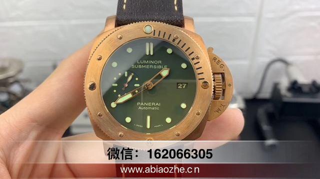 VS厂382复刻表-vs沛纳海382史泰龙军魂铜手表表带尺寸差吗?  第2张