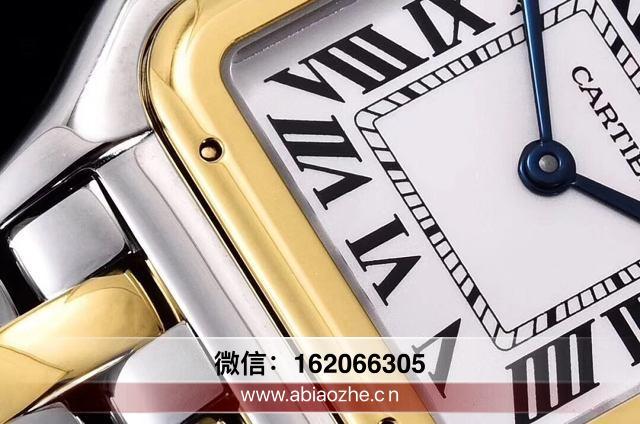 gf厂卡地亚猎豹小号22mm_gf猎豹镶钻圈对比
