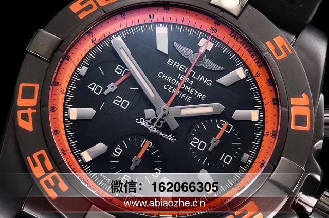 GF百年灵黑鹰终极计时腕表对比_gf黑鹰计时码表质量如何?