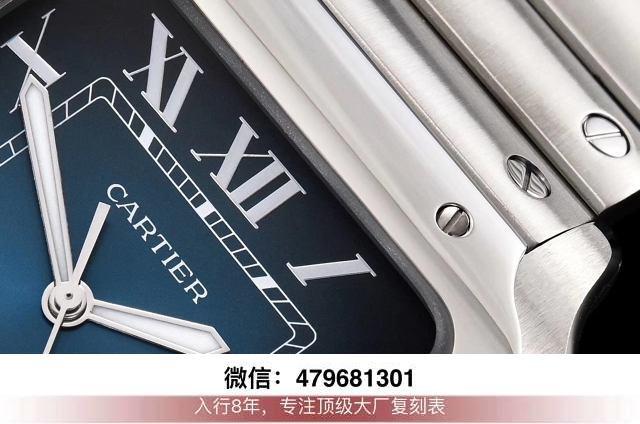 gf厂山度士复刻表-卡地亚山度士手表新款最高版本gf好还是v6好?  第5张