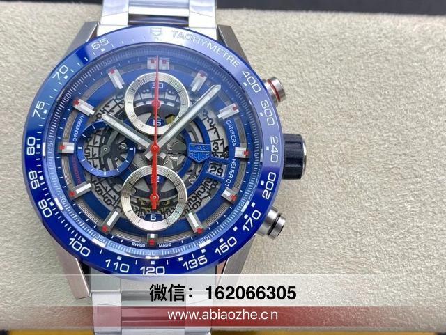 2020XF新品泰格豪雅手表-XF泰格豪雅黑骑士真假对比