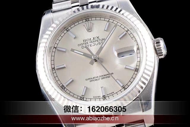 AR日志换ETA2824机芯_ar厂劳力士日志36间金黑V3