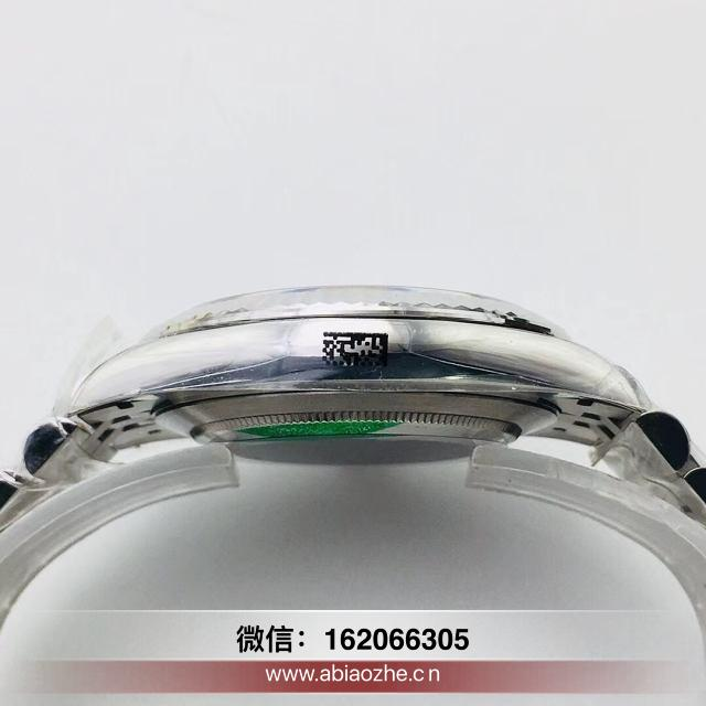 ar日志v2间金41黑盘实心轴_AR厂劳力士41mm日志原单手表