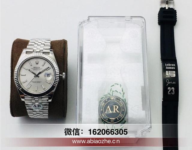 arv3劳力士日志型系列价格_ar厂的劳力士日志41mm手表带