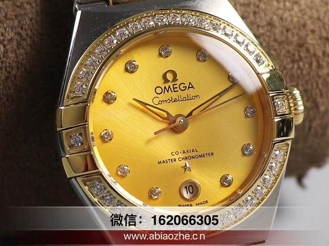 3s厂omega星座机芯图_如何鉴别3s星座是夹板机芯
