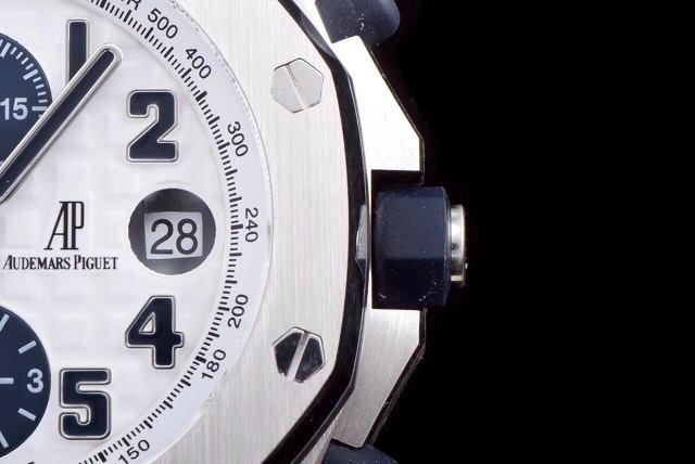 jf厂爱彼26170评测-jf爱彼26170st与正品对比厚度太厚?  第7张