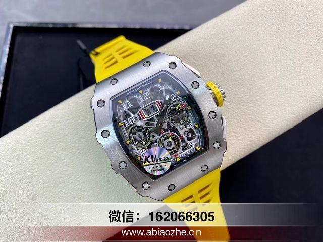 kv理查德米勒rm011复刻手表_kv厂理查德米勒返修