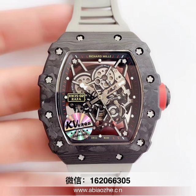 kv厂理查德米勒陶瓷计时_kv出品台湾理查德米尔手表