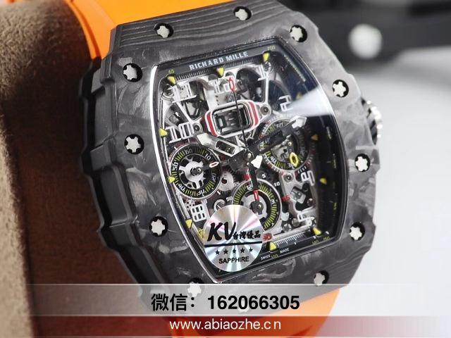 KV理查德手表防水吗_理查德米勒kv白陶瓷手表报价