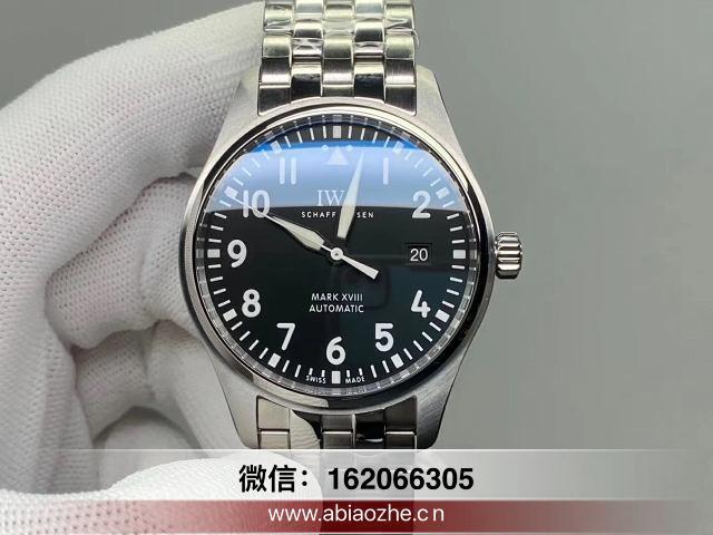v7万国马克十八手动上弦_v7万国飞行员马克18视频评测