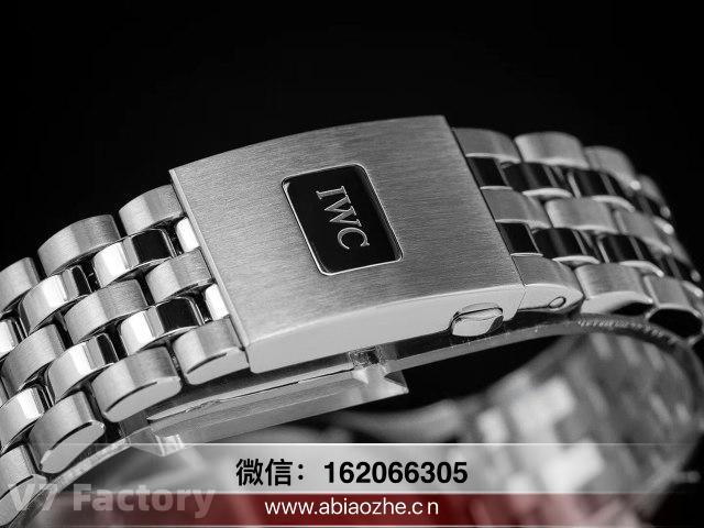 V7厂的万国马克十八指针偏黄吗_v7复刻马克十八升级钢带版价格