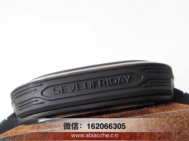 真假对比SV厂七个星期五SF_七个星期五sv厂镜面标签