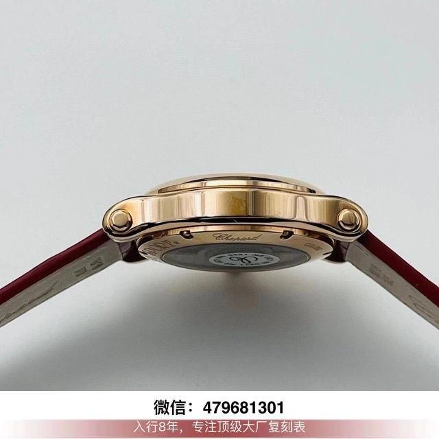 yf厂肖邦快乐钻价格-yf肖邦快乐钻手表中国红鉴定怎么样?  第6张