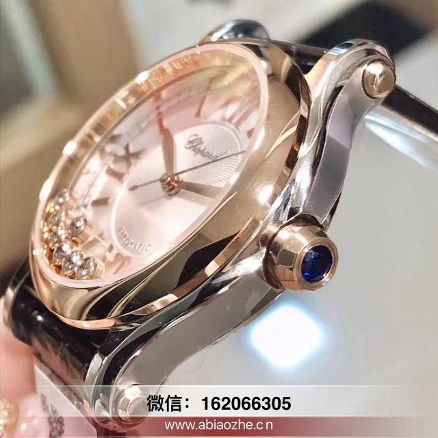 nr厂5钻萧邦和原版对比视频-nr厂萧邦机械手表对比正品
