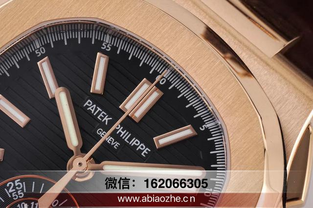 3k鹦鹉螺5711灰蓝色评测_3k高仿包金鹦鹉螺深度评测