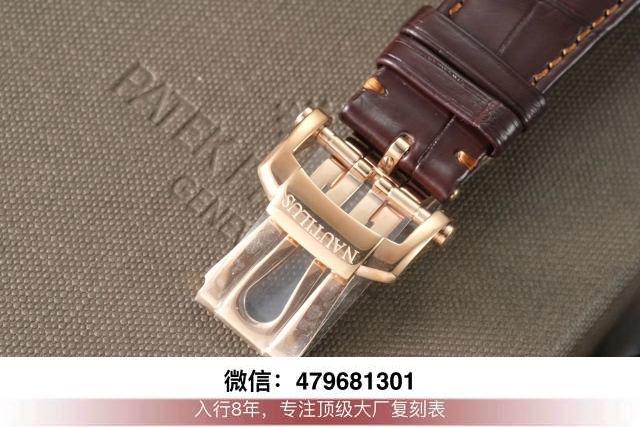 3k厂百达翡丽鹦鹉螺5980-升级款3k鹦鹉螺手表的重量多少克?  第9张