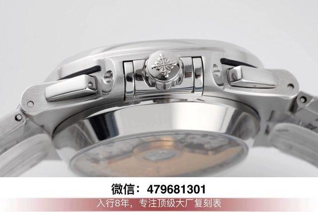 3k厂百达翡丽鹦鹉螺5711-3k鹦鹉螺全玫瑰金咖啡面换原装面针?  第8张