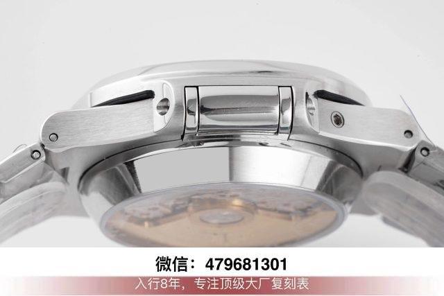 3k厂百达翡丽鹦鹉螺5711-3k鹦鹉螺全玫瑰金咖啡面换原装面针?  第9张