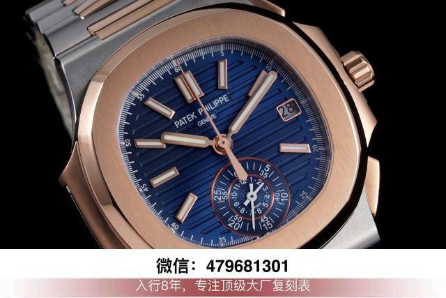3k厂鹦鹉螺蓝-3k鹦鹉螺最新升级版本复刻腕表厂家信息?  第5张