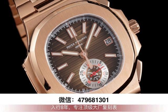 3k厂鹦鹉螺玫瑰金-3k厂鹦鹉螺5711对比ppf价钱?  第7张