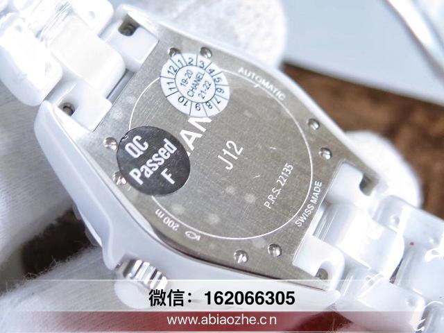 KOR厂香奈儿j12手表怎么样_kor香奈儿表盘是否可转