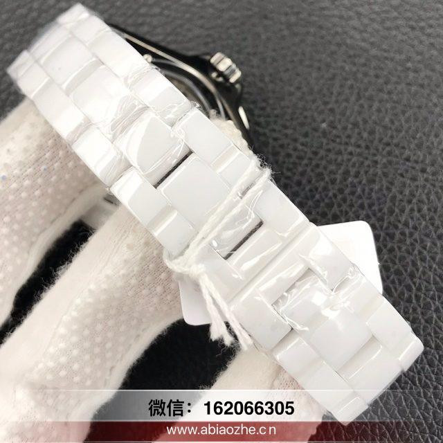 kor香奈儿j12石英机芯是原装的吗_KOR香奈儿j12复刻腕表截表带