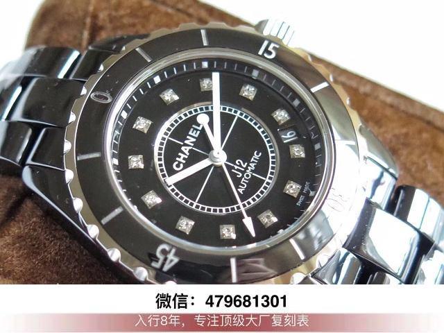 kor厂香奈儿j12陶瓷-kor的香奈儿j12手表缺点能不能防水?  第5张