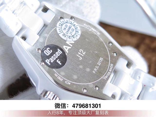 kor厂香奈儿j12机芯-kor和原单品质香奈儿是机械还是石英?  第9张
