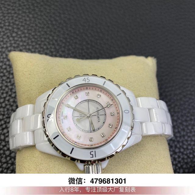 kor厂香奈儿j12评测-香奈儿j12复刻kor在哪买手表多少钱?  第4张