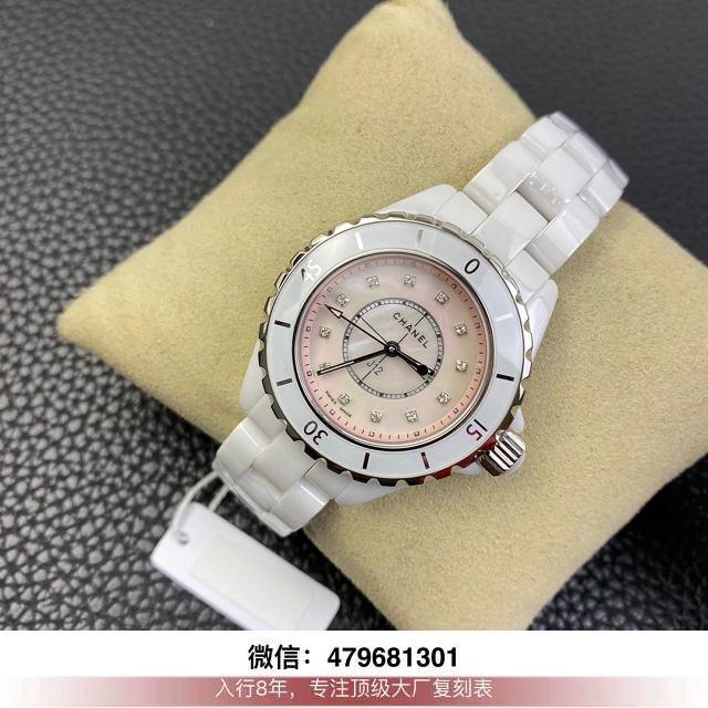 kor厂香奈儿j12评测-香奈儿j12复刻kor在哪买手表多少钱?  第5张
