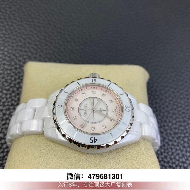 kor厂香奈儿j12评测-香奈儿j12复刻kor在哪买手表多少钱?  第3张