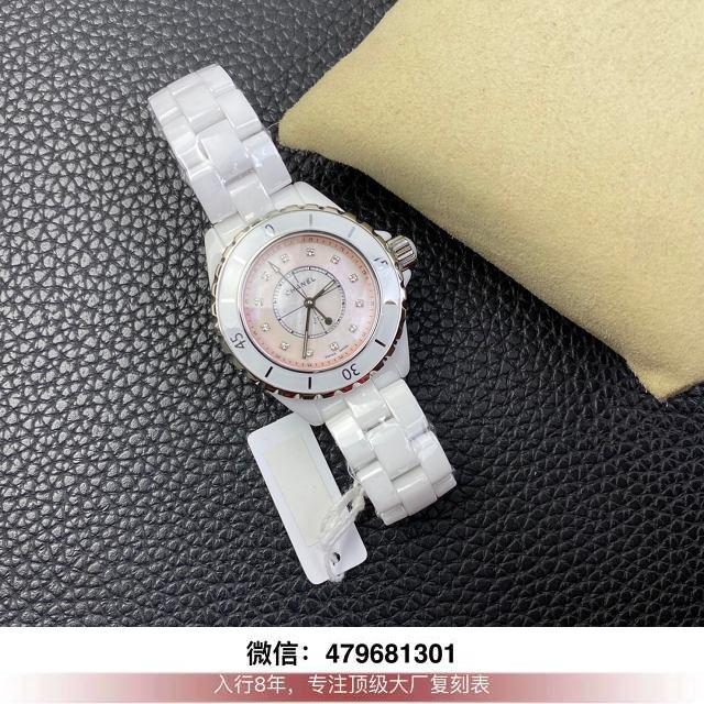 kor厂香奈儿j12评测-香奈儿j12复刻kor在哪买手表多少钱?  第7张