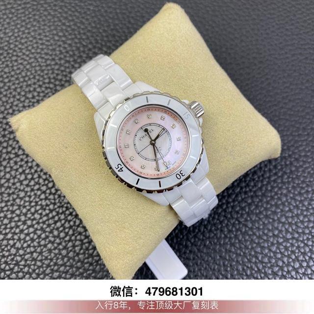 kor厂香奈儿j12评测-香奈儿j12复刻kor在哪买手表多少钱?  第6张