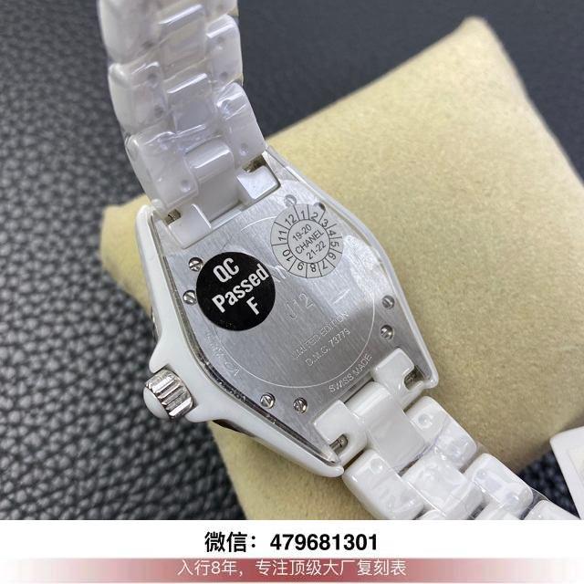 kor厂香奈儿j12评测-香奈儿j12复刻kor在哪买手表多少钱?  第9张