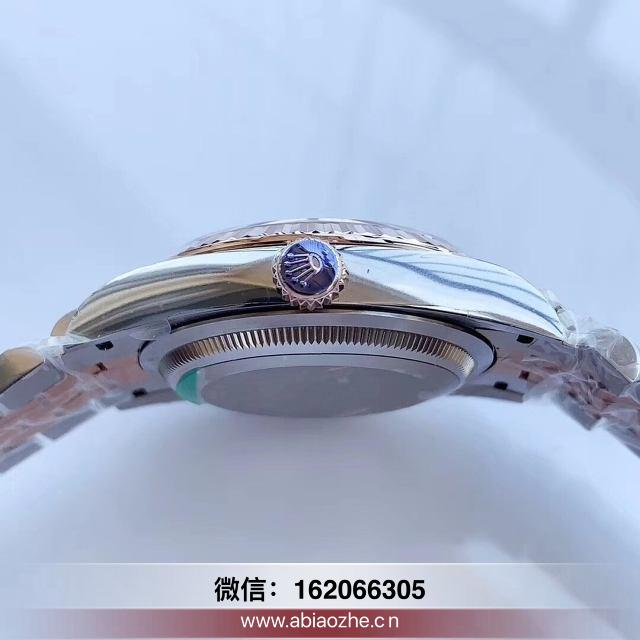 ew金绿双历日志36mm手表_劳力士日志型41ew表带
