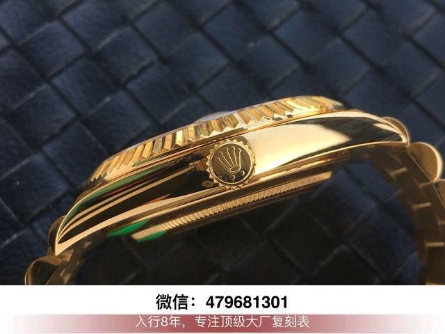 ew和bp厂劳力士日志-ew日志金绿双历36mm手表有没有?  第7张
