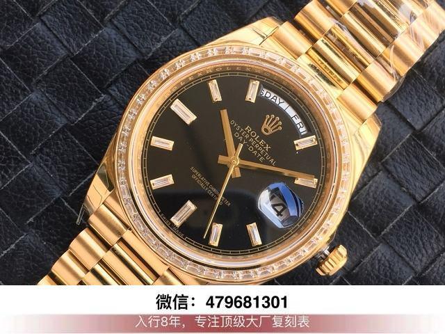 ew和bp厂劳力士日志-ew日志金绿双历36mm手表有没有?  第3张