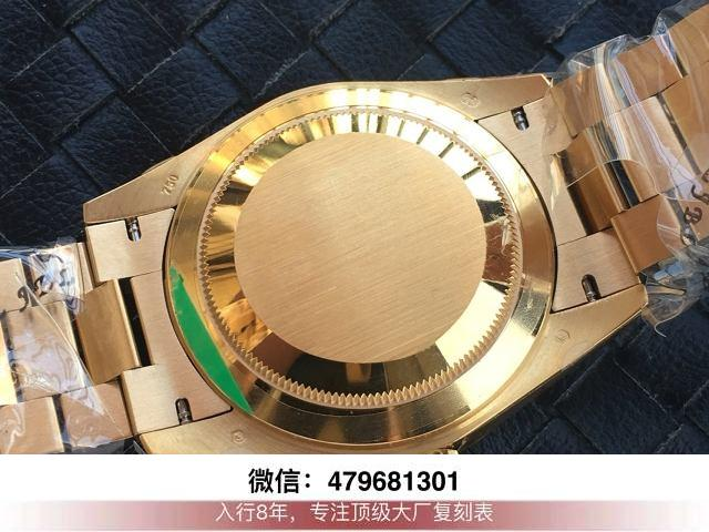 ew和bp厂劳力士日志-ew日志金绿双历36mm手表有没有?  第8张