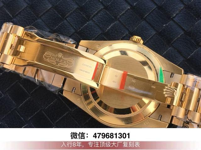 ew和bp厂劳力士日志-ew日志金绿双历36mm手表有没有?  第10张