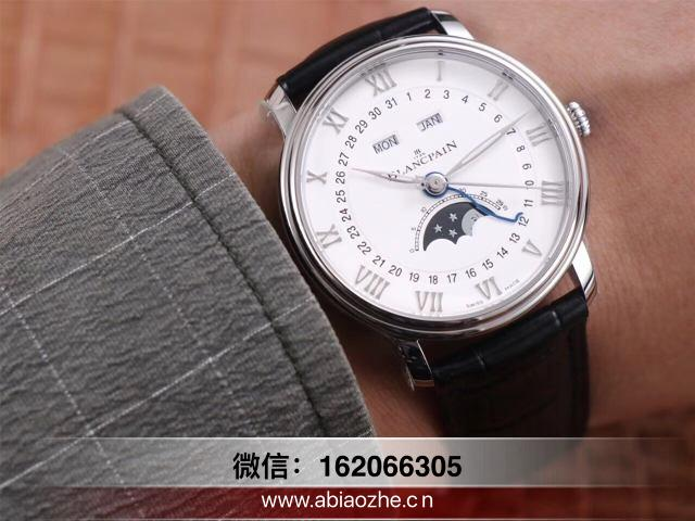 OM厂宝珀评测-OM厂V3版宝珀经典6654全历月相表质量如何?