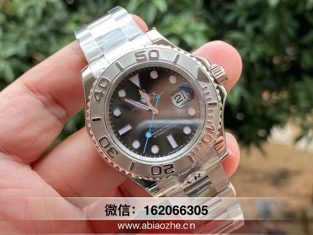 手表评测:AR劳力士灰游艇名仕40mm鉴别做的好不好?
