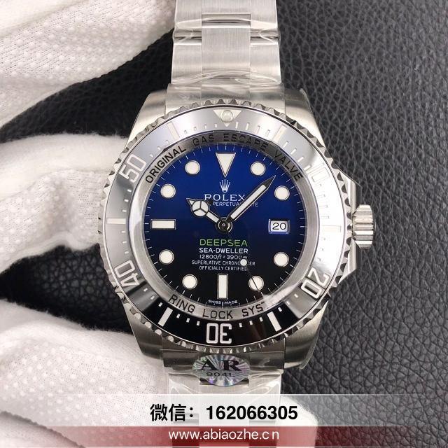 手表测评:N厂v10劳力士渐变蓝鬼王机芯质量怎么样?