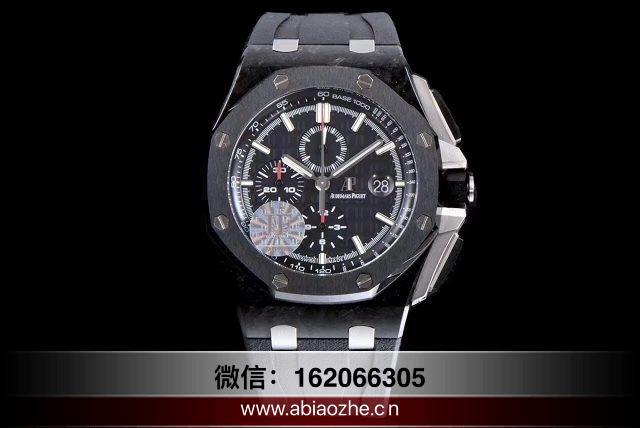 手表品鉴:JF厂爱彼皇家橡树26400锻造碳质量怎么样?
