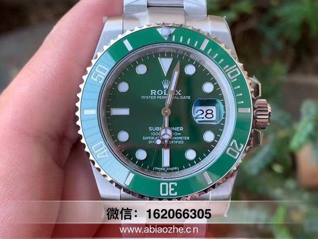 腕表鉴赏:N厂劳力士绿水鬼翠绿圈口质量怎么样?