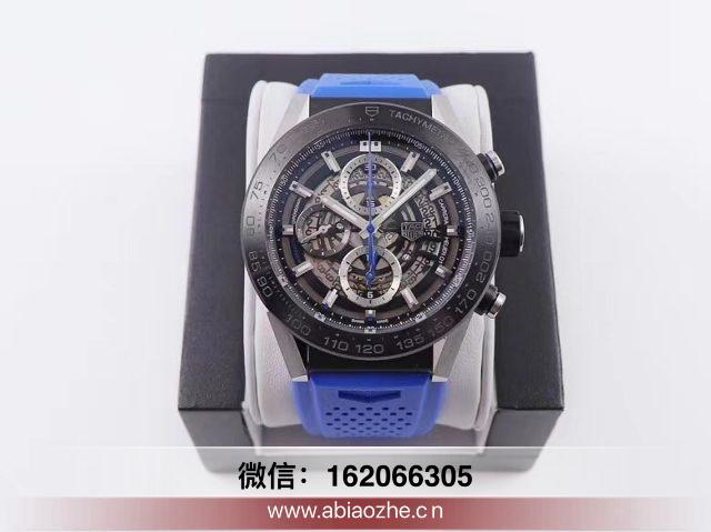 手表分享:XF厂泰格豪雅卡莱拉系列CAR2090.BH0729复刻如何?