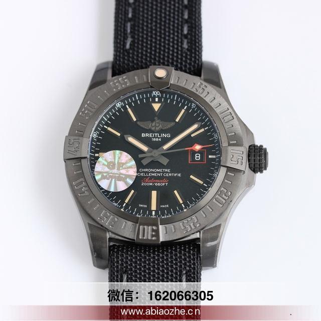 手表分享:GF厂V4版百年灵黑鸟侦察机入手会后悔吗?