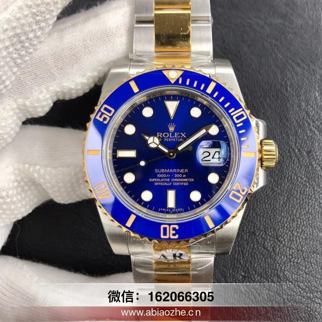 腕表分析:N厂劳力士包金蓝水鬼质量值不值得入手?