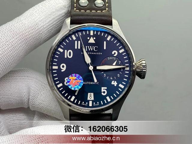 复刻表品鉴:ZF万国大飞行员500908蓝面做工如何?